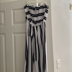 Express Sleeveless jumpsuit brand new with tags